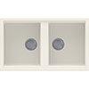 Reginox Best 450 2.0 Bowl Granite Kitchen Sink - Cream profile small image view 1