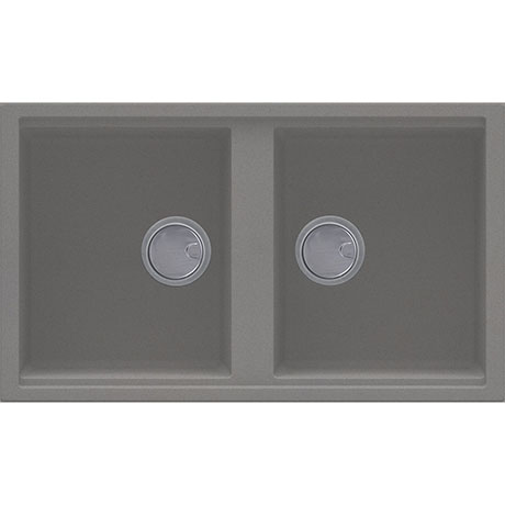 Reginox Best 450 2.0 Bowl Granite Kitchen Sink - Titanium