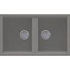 Reginox Best 450 2.0 Bowl Granite Kitchen Sink - Titanium profile small image view 1