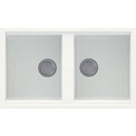 Reginox Best 450 2.0 Bowl Granite Kitchen Sink - White