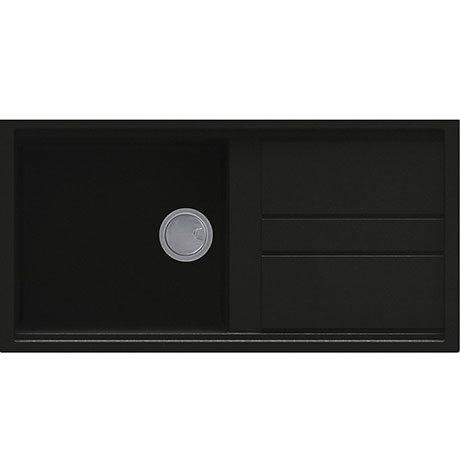 Reginox Best 480 1.0 Bowl Granite Kitchen Sink - Black
