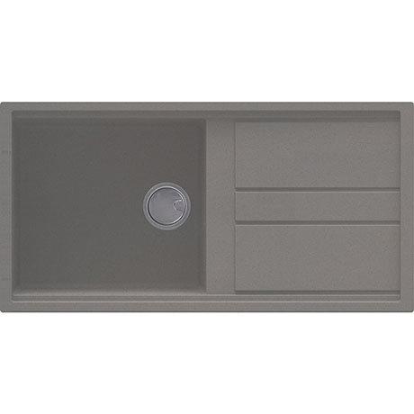 Reginox Best 480 1.0 Bowl Granite Kitchen Sink - Titanium