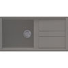 Reginox Best 480 1.0 Bowl Granite Kitchen Sink - Titanium profile small image view 1