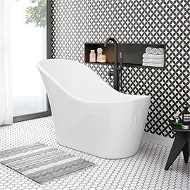 Vienna 1520 Small Modern Slipper Bath