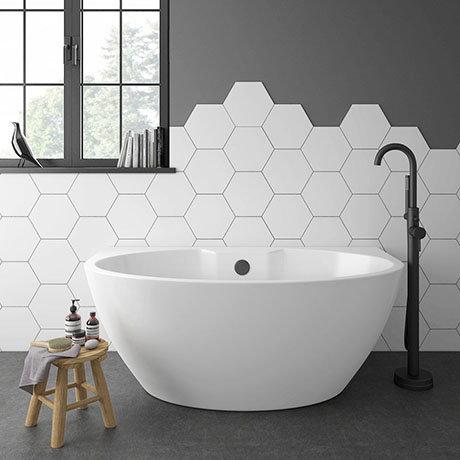 Orbit BTW Modern Free Standing Bath (1515 x 940mm)