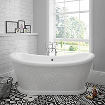 Chatsworth 1770 Double Ended Slipper Roll Top Bath Medium Image