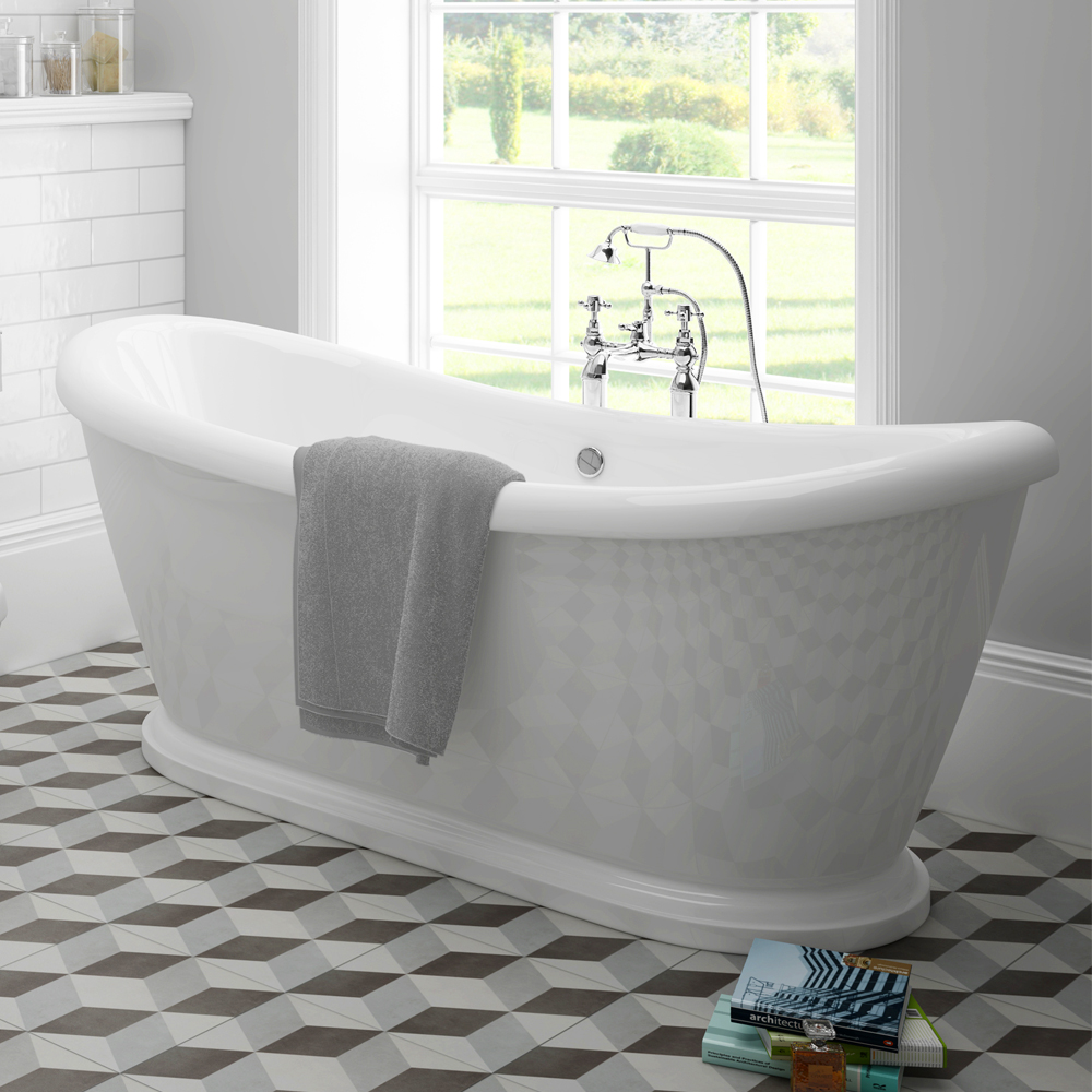 Chatsworth 1770 Double Ended Slipper Roll Top Bath
