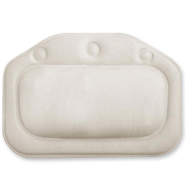 Croydex Standard Bath Pillow - White - BG207022 Large Image