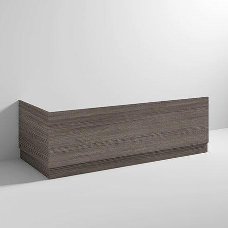 Brooklyn Grey Avola Wood Effect Bath Panel Pack