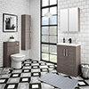 Brooklyn Grey Avola Vanity Furniture Package profile small image view 1