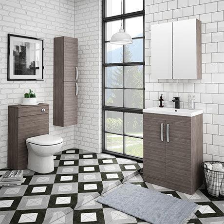 Brooklyn Grey Avola Vanity Furniture Package