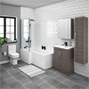 Brooklyn Grey Avola Tallboy Suite profile small image view 1