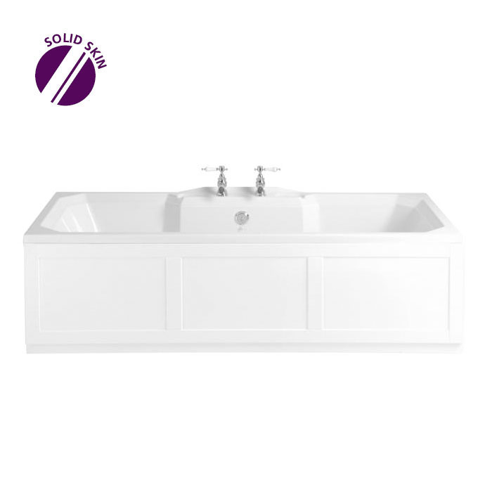 Heritage Granley Double Ended Bath with Solid Skin (1800x800mm) profile large image view 1
