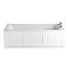 Heritage Granley Deco Single Ended 2TH Bath with Solid Skin (1700x700mm) profile small image view 1