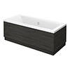 Brooklyn Hacienda Black Double Ended Bath profile small image view 1