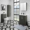 Brooklyn Hacienda Black Vanity Furniture Package profile small image view 1