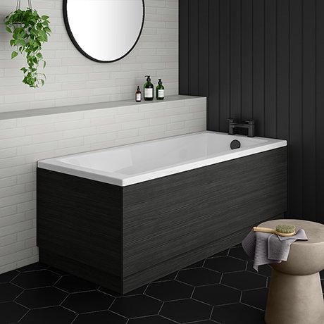 Brooklyn Hacienda Black Single Ended Bath
