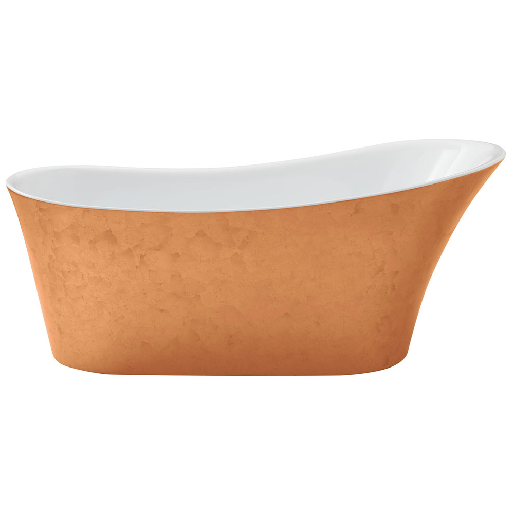 Heritage Holywell Freestanding Acrylic Bath (1710 x 745mm) - Copper Effect Large Image
