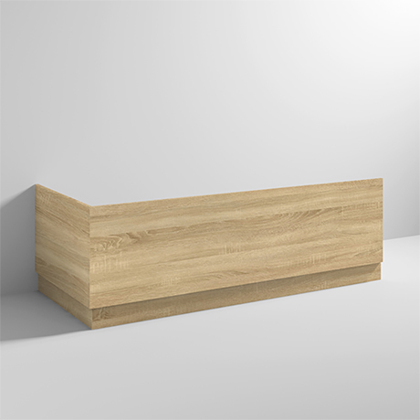 Brooklyn Natural Oak Wood Effect Bath Panel Pack - Various Sizes