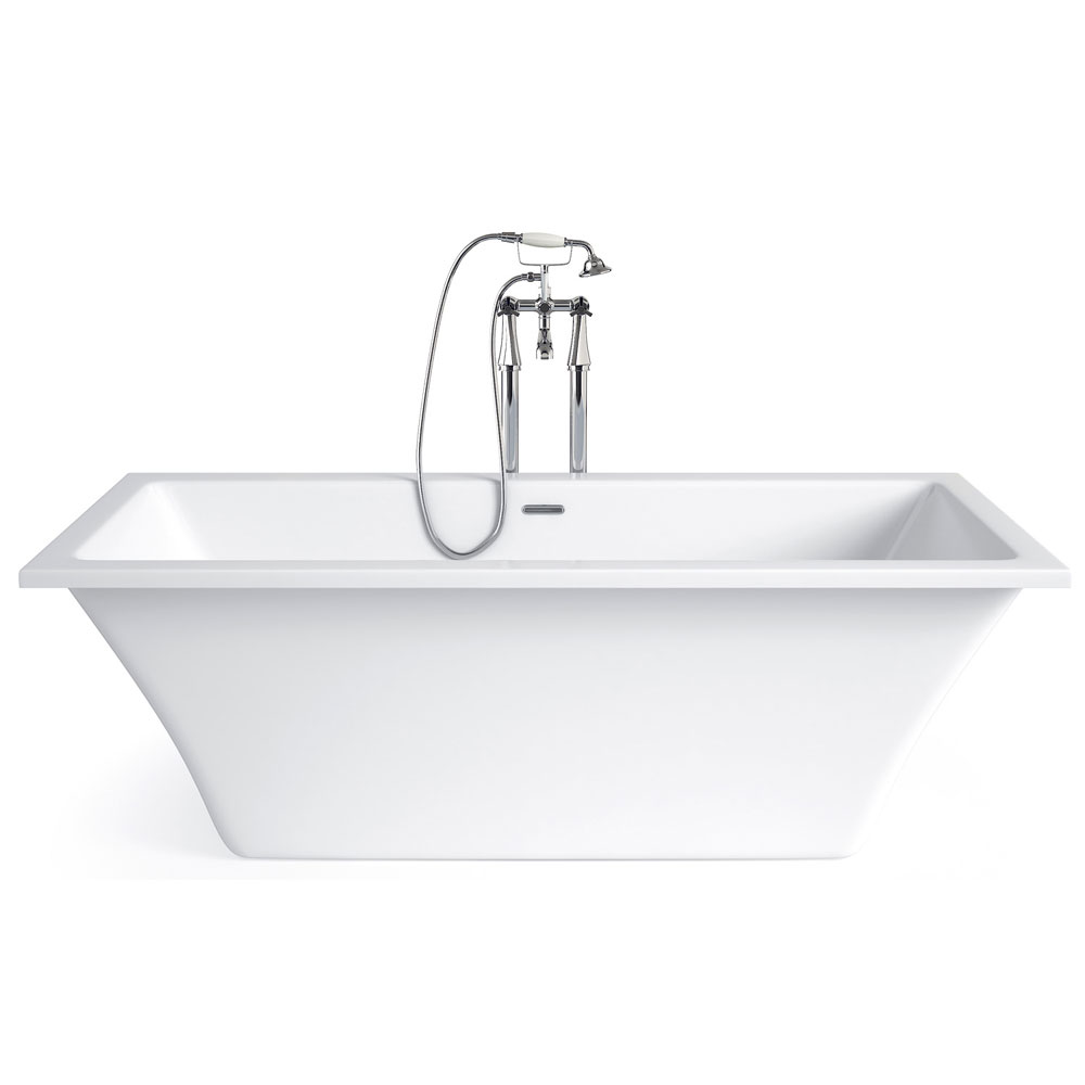 Heritage Rosedene Freestanding Acrylic Double Ended Bath (1800 x 850mm) Large Image