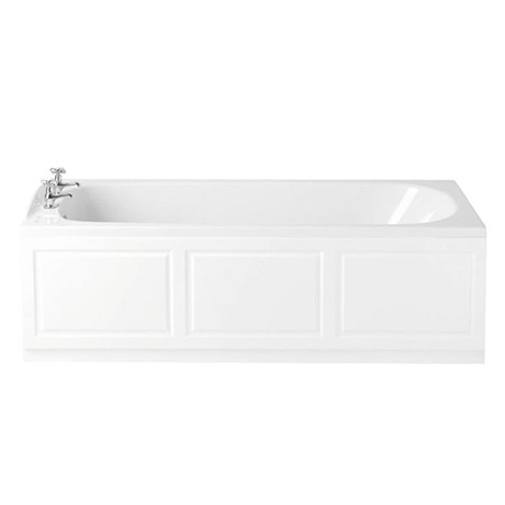 Heritage Rhyland Single Ended 2TH Bath with Solid Skin (1700x700mm)