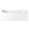 Heritage Rhyland Single Ended 2TH Bath with Solid Skin (1700x700mm) profile small image view 1