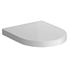 Bianco Soft Close Toilet Seat profile small image view 1
