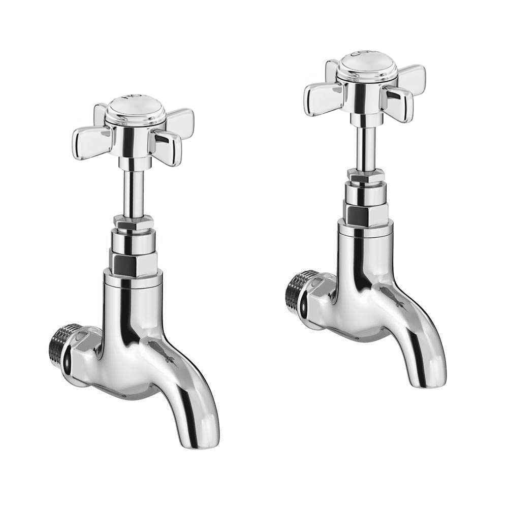 Traditional Wall Mounted Basin Bib Taps Now At Victorian