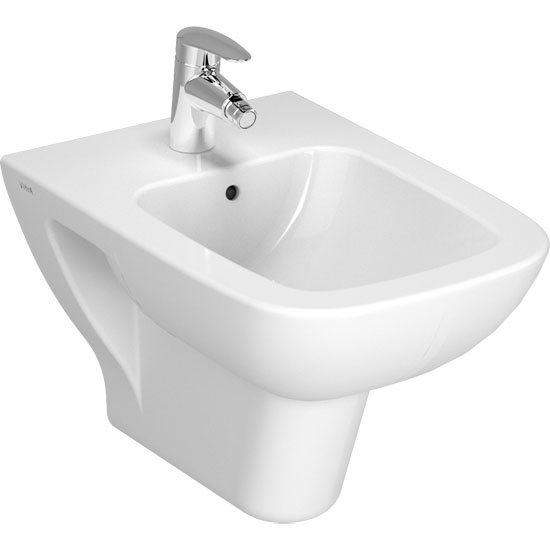 Vitra - S20 Model Wall Hung Bidet - 5508 Large Image