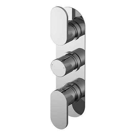 Nuie Binsey Triple Concealed Thermostatic Shower Valve with Diverter - BINTR03