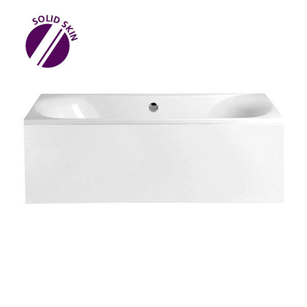 Heritage Claverton Double Ended Bath with Solid Skin (1800x800mm)