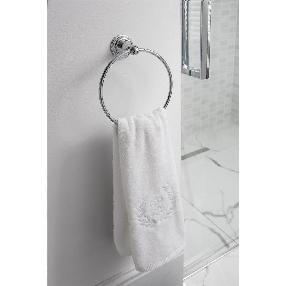 Crosswater - Belgravia Towel Ring - BL013C profile large image view 2