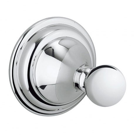 Crosswater - Belgravia Single Robe Hook - BL021C profile large image view 1