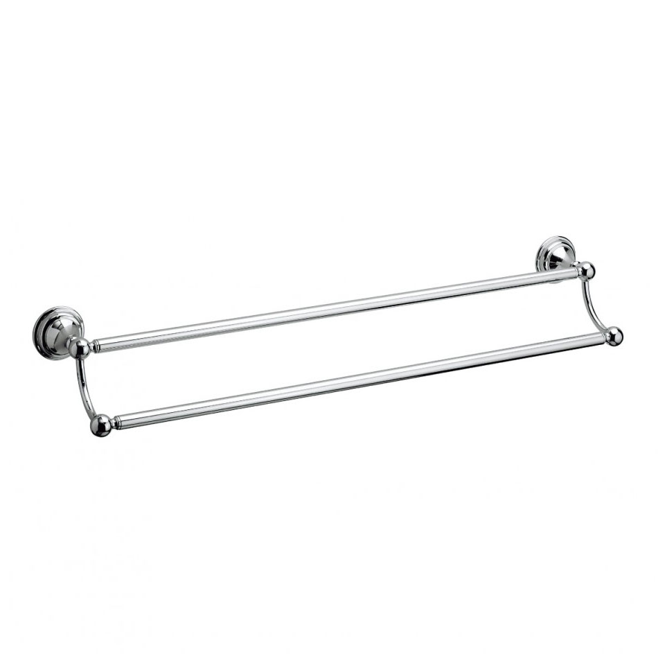 Crosswater - Belgravia 600mm Double Towel Rail - BL028C profile large image view 1
