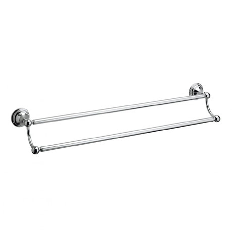 Crosswater - Belgravia 600mm Double Towel Rail - BL028C