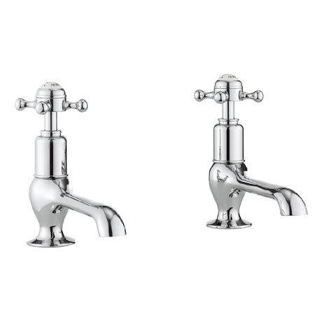 Crosswater - Belgravia Crosshead Long Nose Basin Taps - BL140DNC