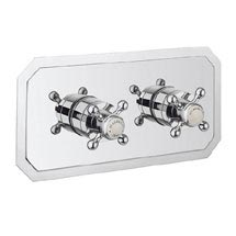 Crosswater - Belgravia Crosshead Thermostatic Shower Valve with 2 Way Diverter - Landscape Medium Image