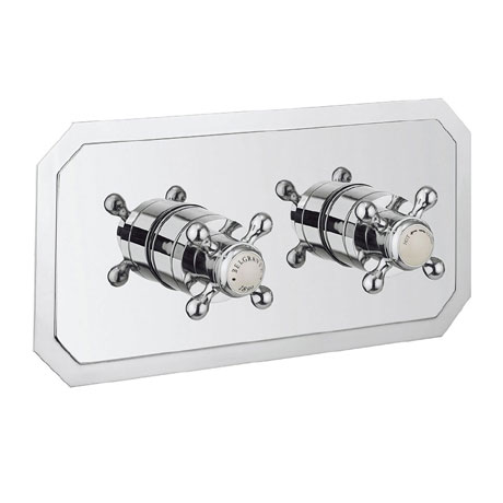 Crosswater - Belgravia Crosshead Thermostatic Shower Valve with 2 Way Diverter - Landscape