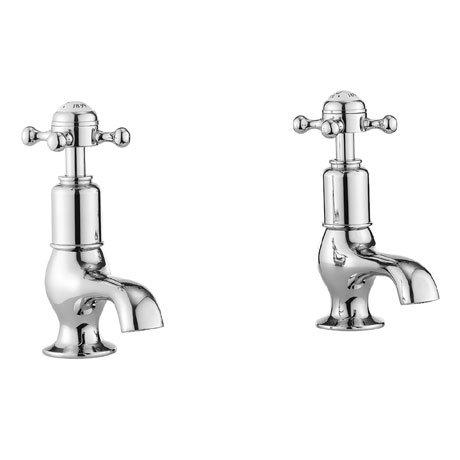 Crosswater - Belgravia Crosshead Cloakroom Basin Taps - BL150DNC