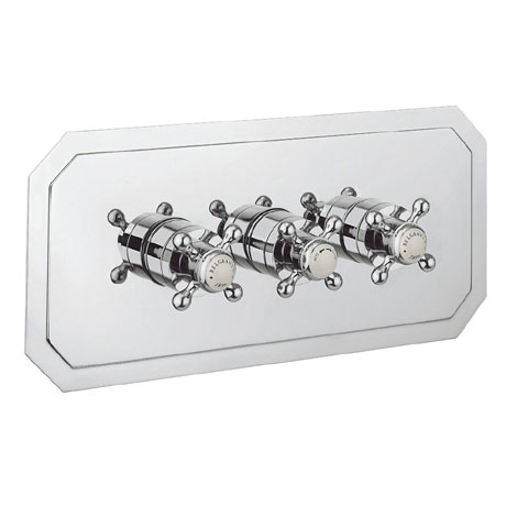 Crosswater - Belgravia Crosshead Triple Thermostatic Shower Valve with 2 Way Diverter - Landscape