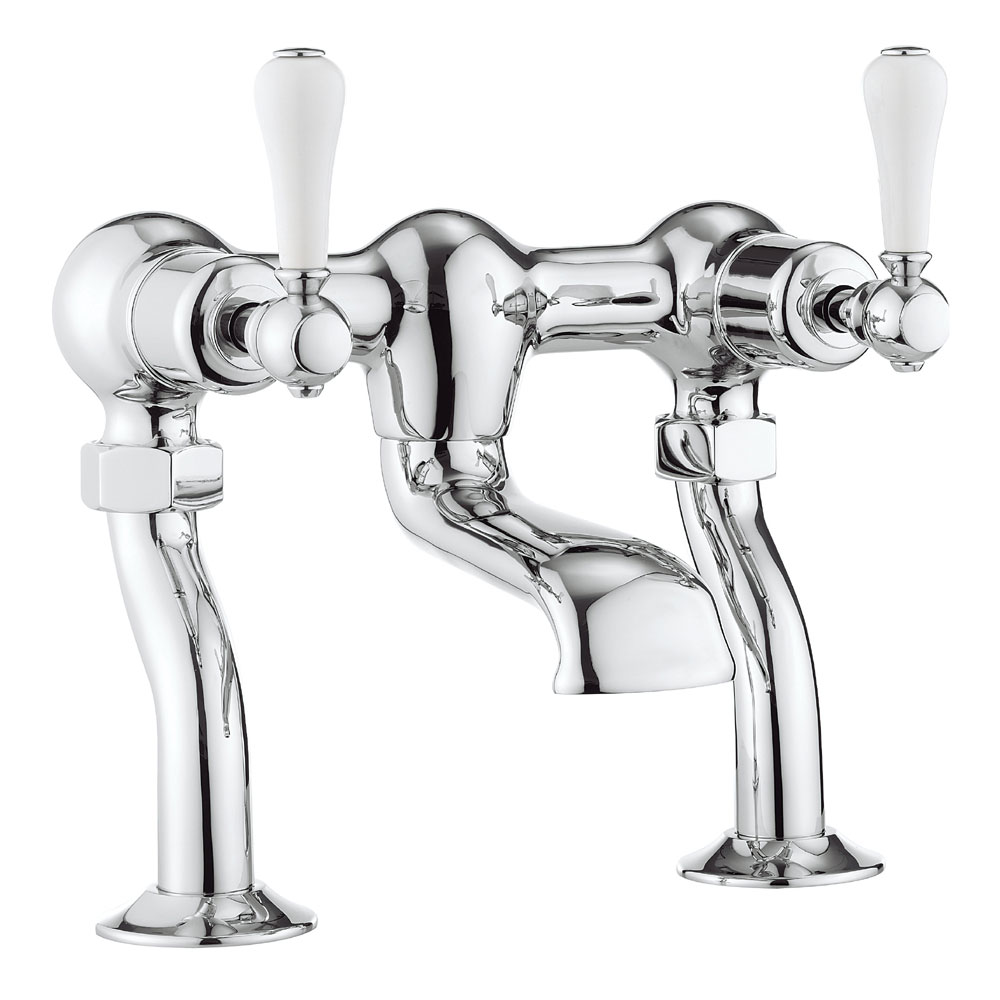 Crosswater - Belgravia Lever Bath Filler - BL322DC_LV profile large image view 1