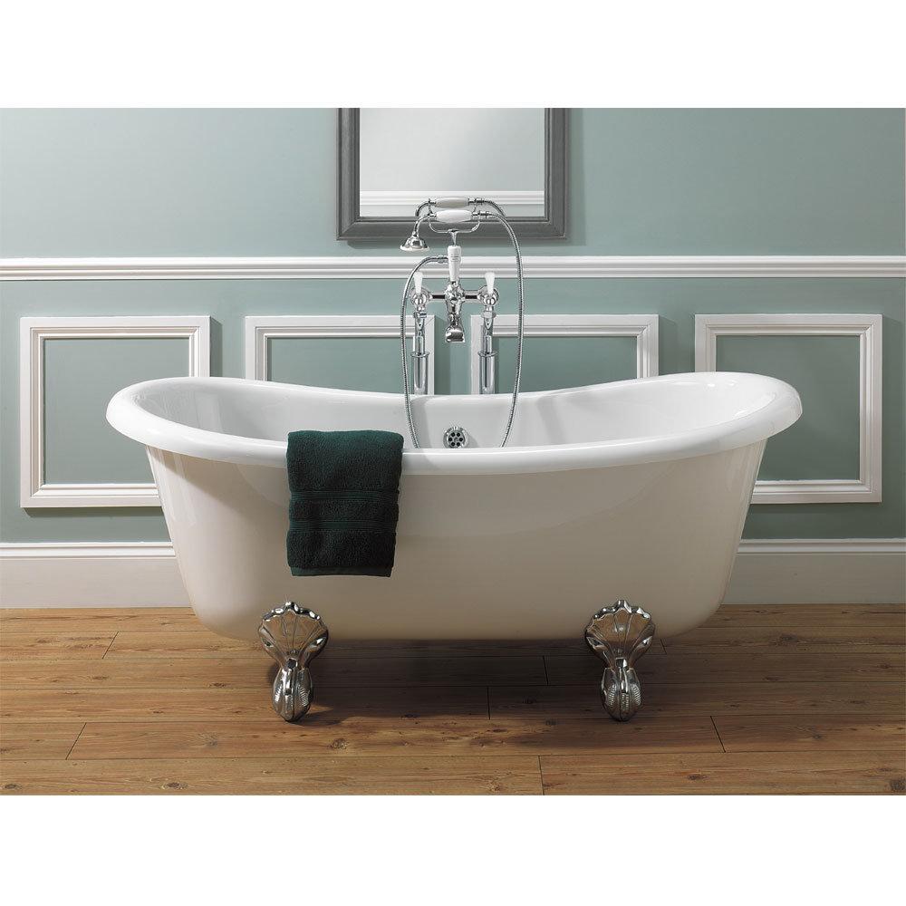Crosswater - Belgravia Lever Floor Mounted Freestanding Bath Shower Mixer Feature Large Image