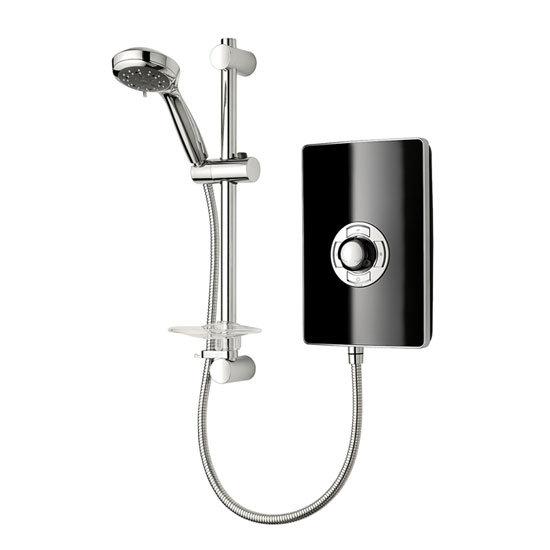 Triton - Aspirante 9.5kw Electric Shower - Black Gloss - ASP09GSBLK Large Image