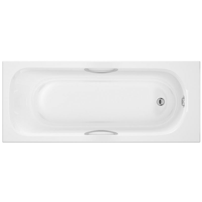 Ultra - Levee Single Ended Bath with Twin Grip Handles & Legset - Various Size Options Large Image