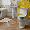 Heritage Blenheim Traditional 4-Piece Bathroom Suite profile small image view 1
