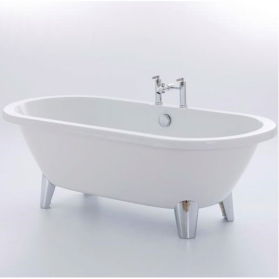 Royce Morgan Blenheim 1750 Luxury Freestanding Bath with Waste profile large image view 1