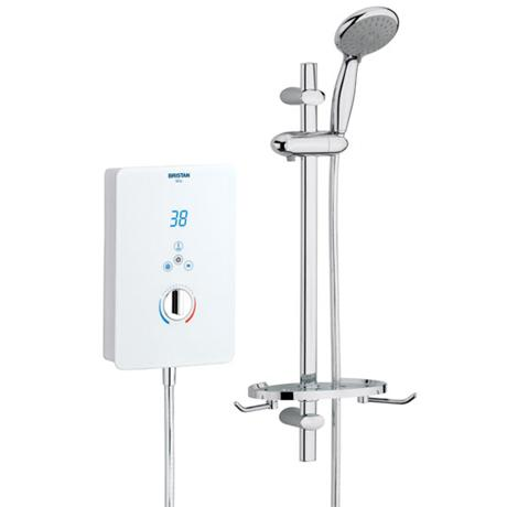 Bristan - Bliss Electric Shower - White - Available in 8.5, 9.5 or 10.5KW