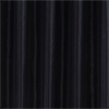 Black W1800 x H2000mm Polyester Shower Curtain profile small image view 1