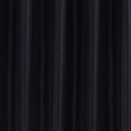 Black W2400 x H2000mm Polyester Shower Curtain