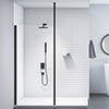 Merlyn Black 3m Vertical Support Post profile small image view 1